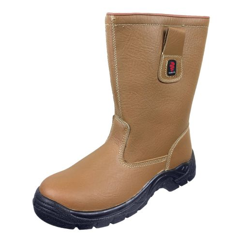 Warrior Tan Wool Lined Rigger Boots
